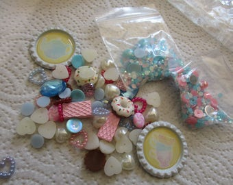 Wonderland, tea party, Decoden / embellishment bundle