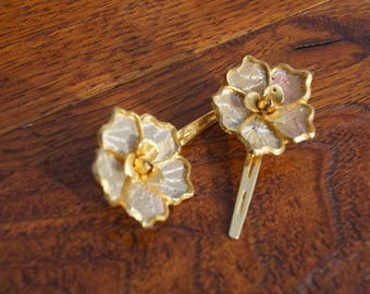 Glamorous Gold Vintage hair clips