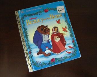 Disney's Beauty and the Beast - Vintage Children's Little Golden Book – 104-65