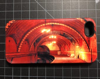 NYC Subway Custom iPhone 5 Case, Used, City Hall Subway Station, New York City