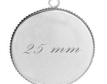 5 blank pendant tray (25mm pr)