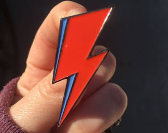 Lightning Bolt- Enamel Pin -