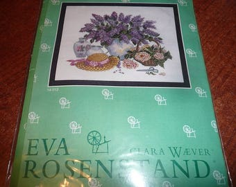 Eva Rosenstand Clara Waever Lilac Cutting Cross Stitch Kit
