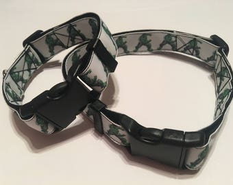 Incredible Hulk Dog Collar