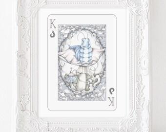 Blue caterpillar, Blue caterpillar illustration, alice in wonderland illustration, caterpillar art, classic illustration, storybook art