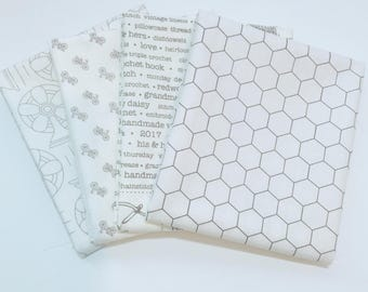 Bundle Options for Bee Backgrounds by Lori Holt for Riley Blake Designs- 4 Fabrics