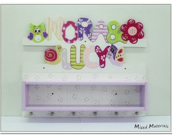 """Children - dressing room for siblings ' name + scene """"with box"""