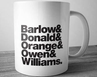Band Line Up Mug: Take That