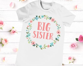 Big Sister Shirt, Big Sister Announcement, Big Sister Little Sister Outfit, Big Sister Top, Big Sister Little Set