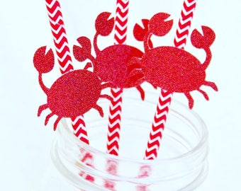 Crab Straws | Under The Sea | Party Straws | Maryland