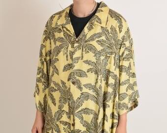 Vintage Shirt / Dress Festival Made in Hawaii (2375)