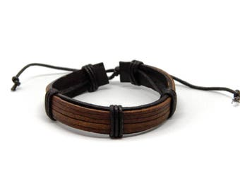 Genuine Leather Bracelet ROME