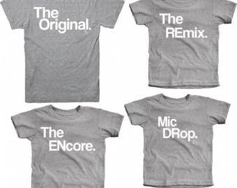 Ropa para hombre   Camisetas para hombre   Camisas para papá   Original   Remix   Encore   Mejores camisetas   Fresco estilo de Papá   Regalo de cumpleaños de los padres   De KaAn