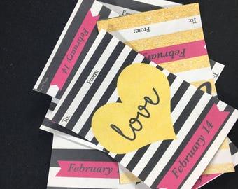 Trendy Printable Valentines