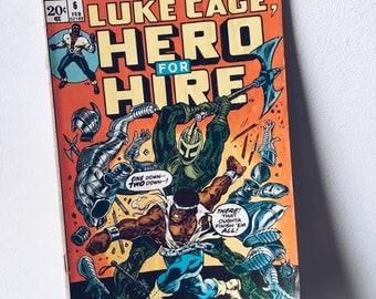 1970's Luke Cage Comic Book #6