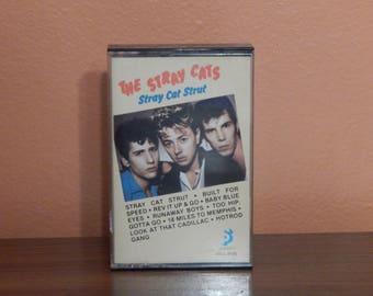 The Stray Cats - Stray Cat Strut-  cassette tape