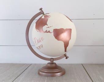 world globe etsy. Black Bedroom Furniture Sets. Home Design Ideas