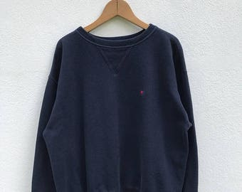 20% OFF Vintage Champion C Logo Sweatshirt/Champion Sweater/Champion Clothing/Champion Spellout