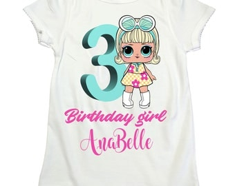 LOL surprise doll Go-Go Gurl girl shirt LOL girl birthday shirt Lol Surprise girl birthday Lol shirt  lol surprise dolls birthday