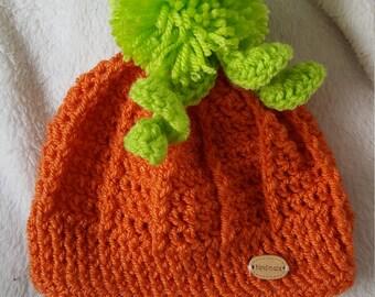 Baby pumkin hat
