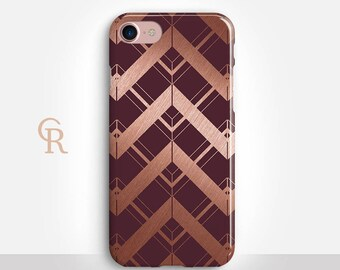 Maroon iPhone 8 Case For iPhone 8 iPhone 8 Plus - iPhone X - iPhone 7 Plus - iPhone 6 - iPhone 6S - iPhone SE - Samsung S8 - iPhone 5