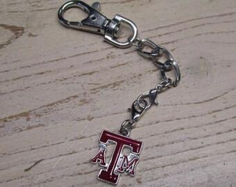 Texas A&M key chain.