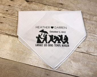 Second Line Handkerchiefs-Wedding Favor **SMALL QTY**