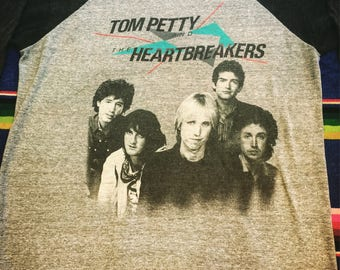 Vintage Tom Petty and The Beartbreakers Shirt 1983