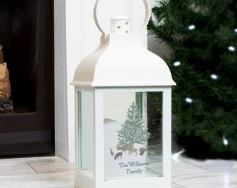 Christmas Lantern - Personalised