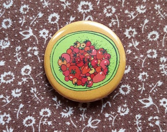 Mini Garden Tomatoes Button