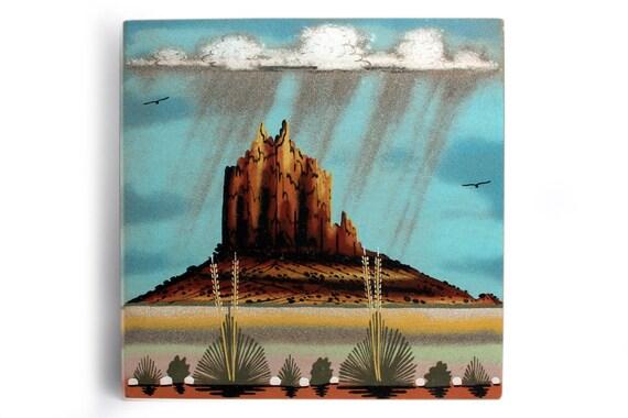 Native Handmade Sandpainting Picture