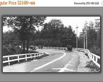 40% OFF SALE Poster, Many Sizes Available; State Highway M-15 In Marquette County, Michigan 1917