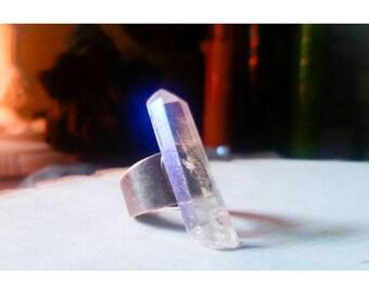 Angel Aura Copper Statement Ring ~ Adjustable
