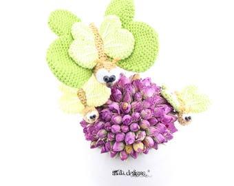 Butterflies - crochet pattern by mala designs ®