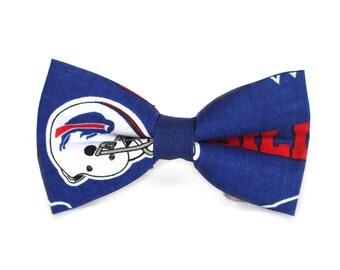 Buffalo Bills Bow Tie | NFL Bow Tie | Bowtie | Football Bow Tie | For Him | Gift for Him | Sports Bow Tie | NFL