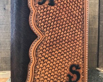 Custom tooled bible cover