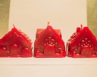Very Vanilla Christmas Houses Set Of 3
