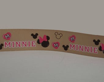 Minnie (by the yard) 15mm Ribbon