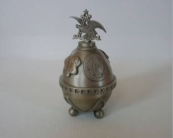 Budweiser Pewter Egg. Number 3 in the Series. Limited Edition of 4,000