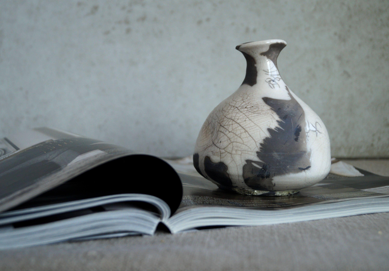Handmade ceramic vase unique raku firing vase ceramic art object handmade ceramic vase unique raku firing vase ceramic art object one of a kind raku glaze crackle texture wheel thrown pottery ceramics reviewsmspy