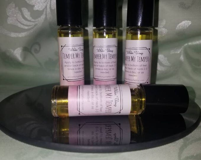 Temper My Temper to cool off temper flare ups - Natural Roll On Essential Oils