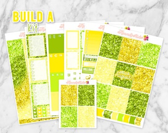 Hello August Build-A-Kit! Pick from 7 Sheets of Planner Stickers | Made for Erin Condren Life Planners, Happy Planners, Personal Planners