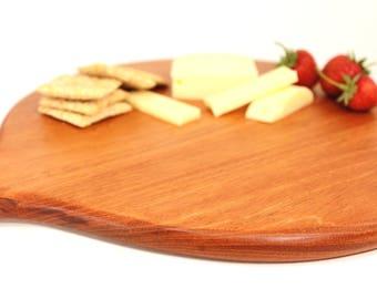 Wood Handled Serving Board