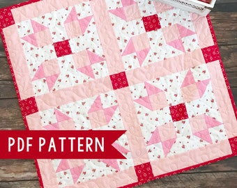 Valentine's Day Table Topper Quilt Pattern