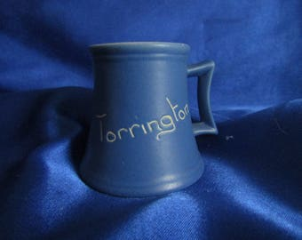 Devonmoor Blue Devon Ware Cup 'Torrington'