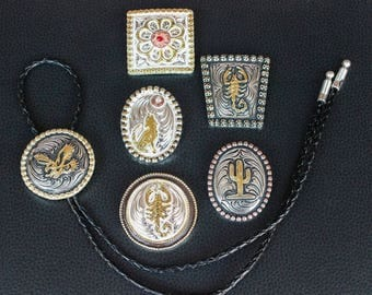 Bolo Tie, Hand Made, Wide Variety!