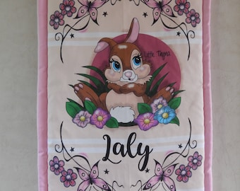 """Quilted cover 60 x 90 cm ,  """"disney theme"""""""