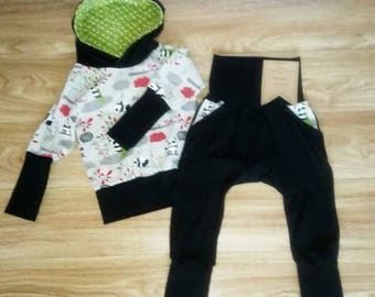 Scalable set 1 - 3T boy panda