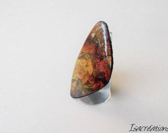 autumn ring tones handmade