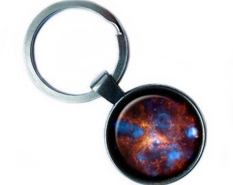 NASA Photograph The Tarantula Nebula Keychain Keyring